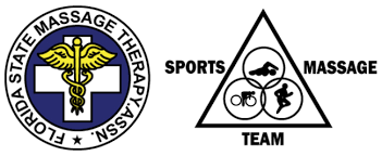 FSMTA sports massage team logo