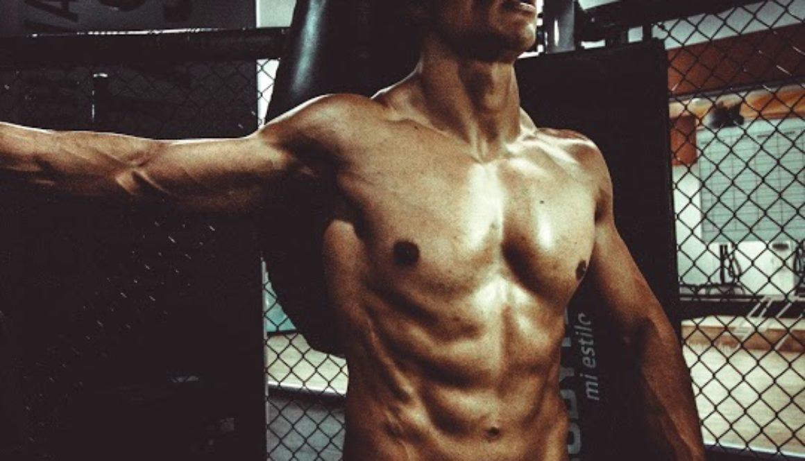 male exerciser